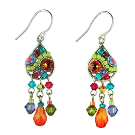 Firefly Earrings Mosaic Simple The Craft Gallery